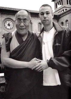 Adam Yauch and the Dali Lama (1994)
