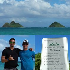 On the way to Pearl Harbor, David stopped by to see his best friend who is stationed on Oahu, Capt. Matt Tweed of the Marine Corps who lives at Lanikai Beach. It's definitely not the ugliest beach in the world. #GrahamInTheMornings #GoCountry105 #Disney #disneyaulani #countrytakingovertheisland