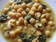 Mediterranean Living  Serafini Amelia  Potaje - Chickpea stew. Healthy Mediterranean cooking.
