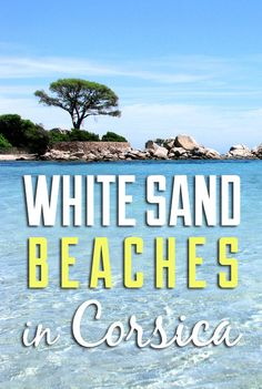 The best white sand beaches you can find in Corsica