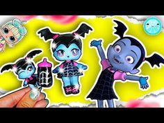 Vampirina LOL SURPRISE Doll Custom DOLLHOUSE Tutorial ♥ DIY LOL Dolls Videos Disney Jr - YouTube
