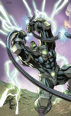 Indestructible Hulk Special #1 Cover by J. Scott Campbell