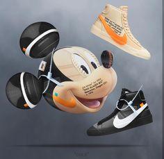 27b2af1624a3 Customizer Depot. Nike LooksHypebeastCleatsOff WhiteMickey ...