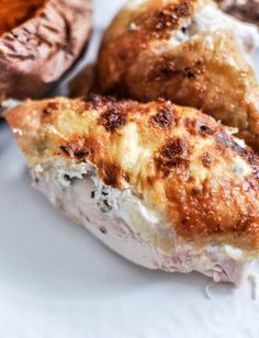 Goat Cheese Roasted Chicken I