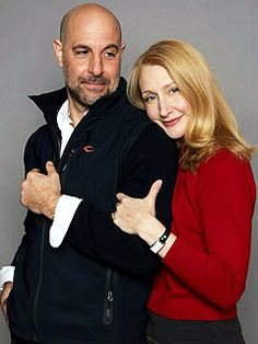 Stanley Tucci and Patricia Clarkson - two of my most favorite people in the acting world!!!!!!!!!!!!!!!!!!!!!