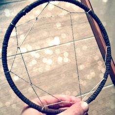 Working on new Dreamcatcher VERY MUCH BIG! Stay tuned! ;) For the moment, I propose the small dream catcher that I made until now.