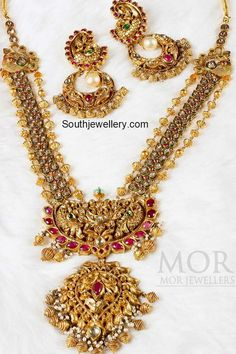 nakshi antique necklace