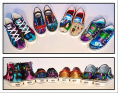 Our shoes for the Vans Custom Culture Contest!