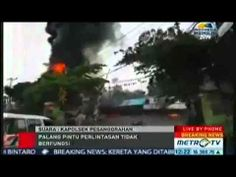 Bintaro 09 Desember 2013   Tabrakan Kereta Api KRL vs Truk LPG