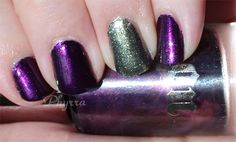 The Cult Classic from UD is Back! New Urban Decay Nail Polish! Pin now, read later! @Ashley Walters Urban Decay #nailpolish #nails #instanails #nailgasm #beauty #makeup #crueltyfree #purple #gunmetal