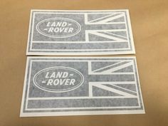 2 X Land R WING DECALS Vehicle Vinyl Stickers Defender Discovery 90 110 TD5 Defender Td5, Land Rover Defender 110, Land Rover Td5, Land Rover Discovery 2, Cheap Ink, Diesel Fuel, Vinyl Decals, Landing, Stickers
