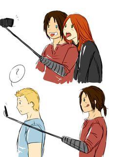 When Bucky is more on trend than Steve is (I blame Natasha)