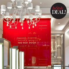 The Red Door, New York: FACIALS #InStyle