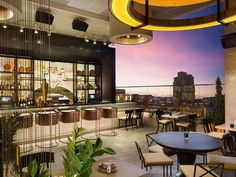 "10 hidden hotspots in San Diego The Nolen. San Diego's newest rooftop bar—it opened in November 2015—is as sleek as you can imagine, and ""dedicated to advancing the art of the cocktail,"" while offering sweeping views of the bay, Coronado Bridge, and the downtown skyline. The space, named in honor of San Diego's first city planner, occupies the 14th floor of the brand-new Courtyard by Marriott Gaslamp/Convention Center, though it's got its own entrance at street level."