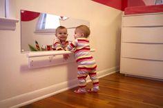 Área para cuando el bebe empiece con sus primeros pasos!!