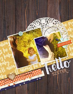 Ideas for Using Font Bundles for Your Digital and Hybrid Scrapbook Pages | Amy Kingsford | Get It Scrapped