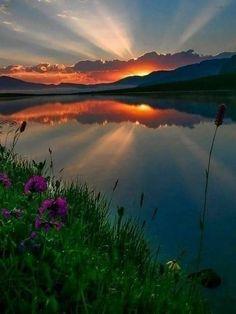 Amazing Sunsets, Amazing Nature, Beautiful World, Beautiful Images, Beautiful Nature Scenes, Nature Pictures, Cool Pictures, Landscape Photography, Nature Photography