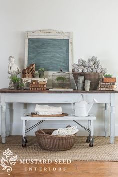 I've written several posts about styling over the years, but I've grown a lot and learned a lot along the way and it's probably time for an update. (I have also received a few comments and e-mails about it lately.) Styling is a broad topic, so I'll break Vintage Display, Vintage Decor, Wabi Sabi, Miss Mustard Seeds, Milk Paint, Farmhouse Chic, Cool Ideas, Painted Furniture, Plywood Furniture