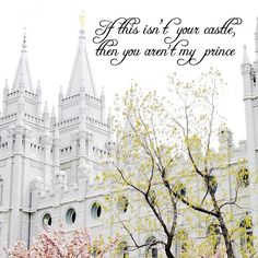 I am a daughter of a King! LDS Temple