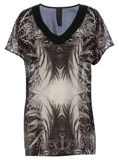 TWISTY PARALLEL UNIVERSE Print T-Shirt