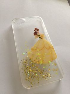 Belle Beauty and the Beast iPhone 6 6 5s 5c by GracesGlitterCases