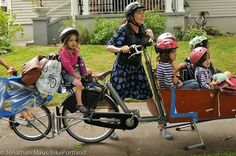 The Finch Family by BikePortland.org, via Flickr #Inspiring