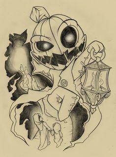 punking_tattoo_design_by_abrahamgart-d6q7k0u.jpg (1381×1871)