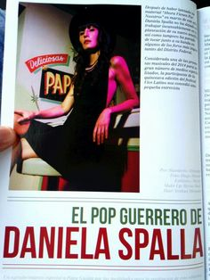 Daniela Spalla para ENE Magazine.