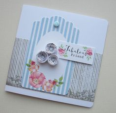 Designed by Kath Woods for Craftwork Cards using the Bumper Bundle kit.