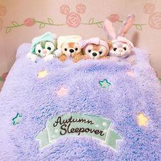 Disney Bear, Duffy, Sleepover, Diy And Crafts, Room Decor, Kawaii, Japan, Purple, Store