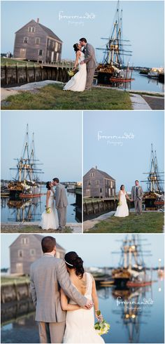 Salem Waterfront Hotel wedding by Forevercandid Photography