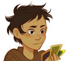 Nico playing Myth-o-magic.