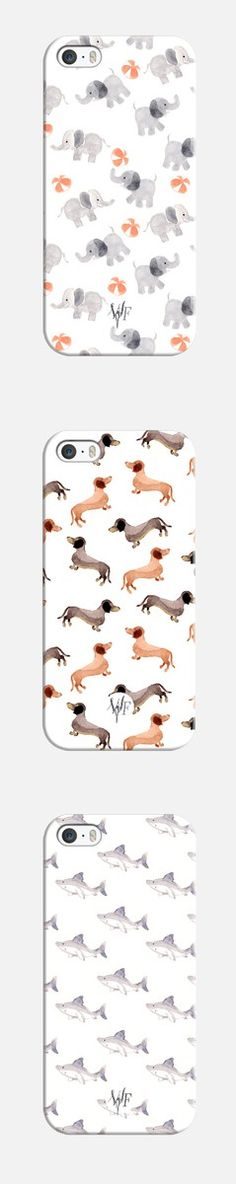 Cute phone cases// @marnikevans you need the wiener dog one!