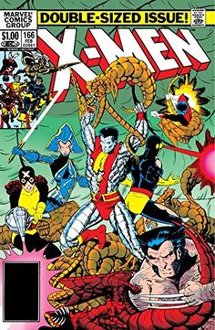 Uncanny X-Men (1963-2011) #166:   The X-Men find themselves on a world transformed by the Brood.  Is there any way to save the planet, let alone themselves?