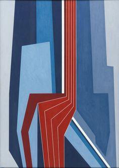 Gualtiero Nativi (1921-1999) - Olio su tela, 1978 , 70x50 cm.