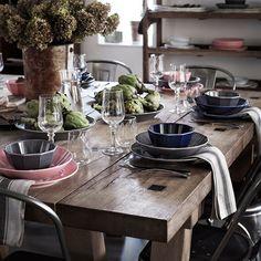 Side Plates, Serving Plates, Earthenware, Stoneware, Table Color, Ikea Canada, Paper Dinner Napkins, Ikea Family, Color Glaze
