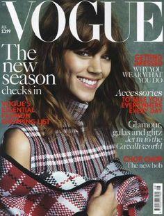 British Vogue - British Vogue August 2013 Cover