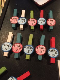 Dr. Seuss themed student tags for behavior chart (picture on behavior chart coming soon)!