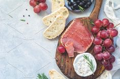 Antipasti or appetizer plate by The baking man on @creativemarket