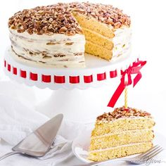This gluten-free birthday cake recipe is so rich and moist that no one will guess it's low carb and sugar-free. It's easy to make with just 10 ingredients!