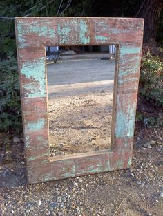 Recycled Copper Mirror by VaughanFurniture on Etsy, $299.00
