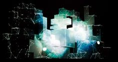 Vita Motus Design; Amon Tobin's ISAM tour stage. Projection mapping onto three dimensional segmented cubes. Amon was in the central dominant cube.