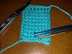 Tutorial crochet tunisino