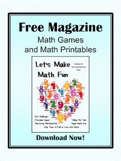 Fun Games 4 Learning: Free Math Magazine for You!