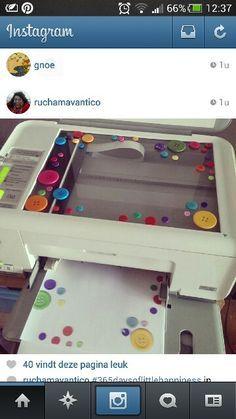 Was für eine gute und absolut vielseitige Idee: Mit Hilfe des Farbkopierers ganz individuelles Briefpapier herstellen!