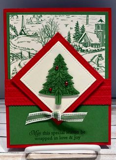 Find more information on Handmade Christmas Cards Homemade Christmas Cards, Stampin Up Christmas, Christmas Cards To Make, Xmas Cards, Homemade Cards, Handmade Christmas, Holiday Cards, Christmas Crafts, Christmas Decorations