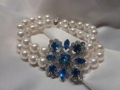 vintage jewelry | Something Blue Vintage Wedding Jewelry