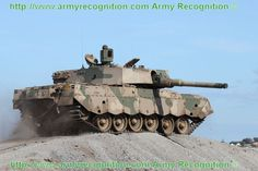 Olifant Mk 2 main battle tank South African army at AAD 2010.