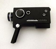 Vintage 8 mm camera -  Kodak Instamatic M6 8 mm movie camera on Etsy, $9.99