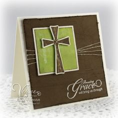 card cross communion spiritual christianity Graze sympathy - Call to Me and a Spotlight Hop Confirmation Cards, Baptism Cards, Card Making Inspiration, Making Ideas, Easter Cards Religious, Religious Cross, Communion, Christian Cards, Stampin Up